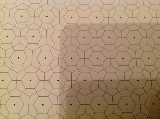 Tonight Mr11 and I worked on our hex drawing algorithm.