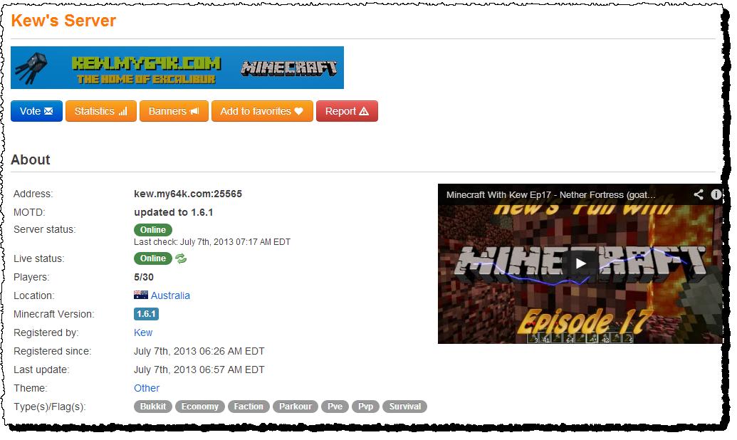 A MineCraft Server For Kids In Australia | James McParlane's